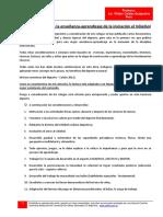 Consideraciones en La Enseñanza-Aprendizaje de La Iniciación Al Vóleibol