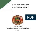 Program Pmi 2016