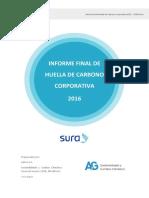 Huella de Carbon o 2016