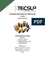Informe Medidores Sarco
