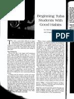 pedagogy 1 tuba