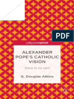 Alexander Pope s Catholic Vision Slave to No Sect