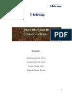 Plan de Negocio Chocolateria (Proyecto Final) Jajaja