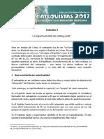 03_subsidio_la Espiritualidad Del Catequista