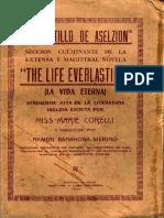 El Castillo de Aselzion (Primera traducción al español, 1935)