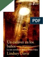 Un Cadaver En Los Banos - Lindsey Davis.pdf