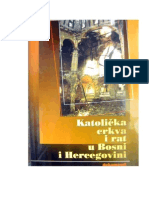 Dr. sc. Velimir BLAŽEVIĆ, Katolička crkva i rat u Bosni i Hercegovini