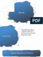 Diapositivas Kenia
