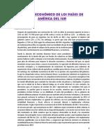 Estudio Económico de Los Países de América Del Sur
