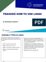 Modul Lingo