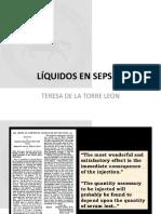 Liquidos en Sepsis
