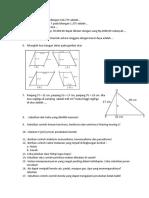 Latihan matematika kelas 5