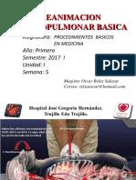 Clase 5 Reanimacion Cardiopulmonar (1)