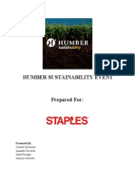 humber sustainability event