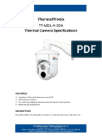 ThermalTronix TT MDL a SDA Series Datasheet - SECURITY SYSTEMS