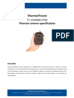 ThermalTronix TT 1010MD FTM Datasheet - TEST AND MEASUREMENT INSTRUMENTS