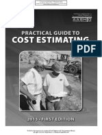 [06557] - Practical Guide to Cost Estimating - AASHTO
