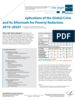 Brief - Future Scenarios for Global Poverty 2010-2020