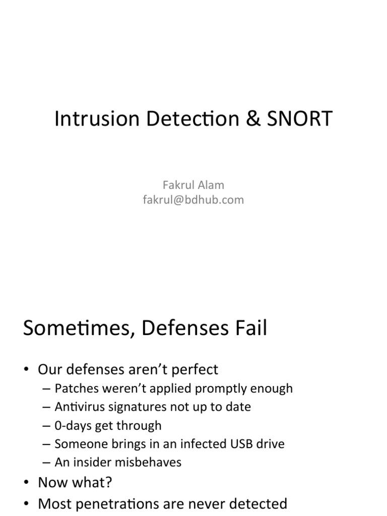 5 3 1 Snort   Network Architecture   Information Technology