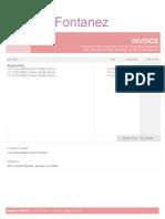 invoice dcs sample2