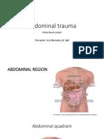 CSS Abdominal Trauma PIPIT
