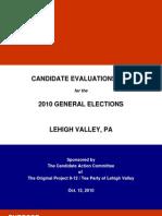 Nov 2010 Candidate Evaluation Report COLOR.rev05