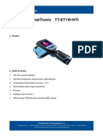 ThermalTronix TT ET1W HTI Datasheet - HANDHELD INSPECTION INSTRUMENTS