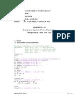 Sintia.algo.J1819.DB2016.Prakt-10 Pemprograman Keputusan (Decision Programming) Menggunakan if...Else...End
