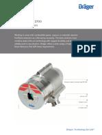 Draeger Flame 2000 IR Datasheet