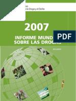 Informe Mundial de Drogas 2007