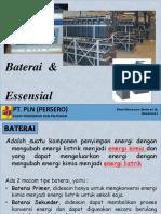 6. Baterai & Essensial