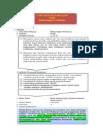 UKBM Sastra Inggris X KD 3.2 - 4.2 Should + (Simple, Continuous, Perfect)