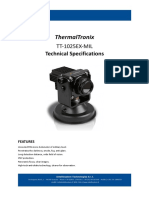 ThermalTronix TT 1025EX MIL Datasheet - THERMAL CAMERAS
