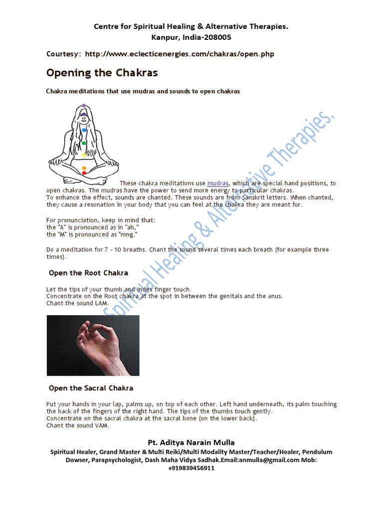 Chakra Opening | Hand | Chakra