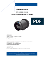 ThermalTronix TT 1100B UTCM Datasheet - THERMAL CAMERAS