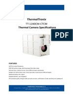 ThermalTronix TT 1240CM CTCM Datasheet - THERMAL CAMERAS
