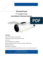 ThermalTronix TT 1240M CTCM Datasheet - THERMAL CAMERAS