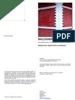 Cours - Maçonnerie.pdf