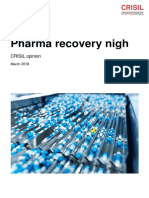 Crisil Research Sector Round Up Pharma Recovery Nigh