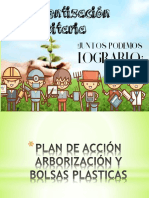 Plan de Acción Proyectos Arborización y Bolsas Plasticas