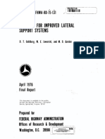 Concepts for Improved Lateral Support Systems-fhwa-April 1976