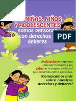 Folleto Las Ninas Ninos Adolescentes