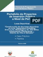 Pip Losas Deportivas-Villa El Salvador
