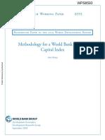 Human Capital Index Methodology World Bank