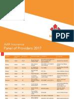 AAR INSURANCE PANEL OF PROVIDERS 2017-.pdf