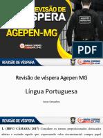 RevisaoDeVespera AGEPEN-MG LucasGonçalves