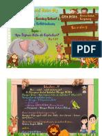 Contoh Poster dan Undangan Natal Anak-anak
