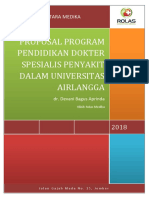 Cover Proposal Program Pendidikan Dokter Spesialis