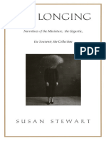 [Susan Stewart] on Longing Narratives of the Mini