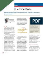 ISO 27001 e ISO 27004